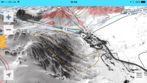 Tovière ski area in Tignes