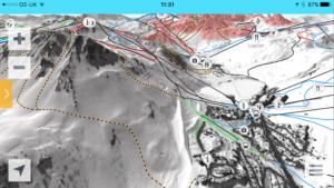 Tovière ski area in Tignes 2
